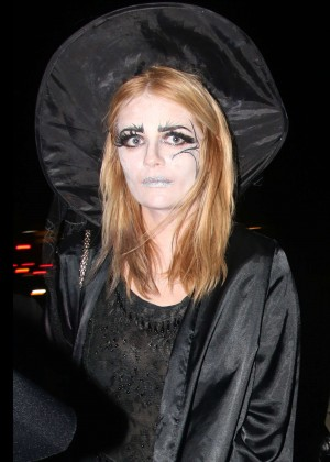 Mischa Barton - Adam Levine's Halloween Party in LA