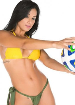 Hot Girls Brazil World Cup 2014: Miss Bum Bum  -04