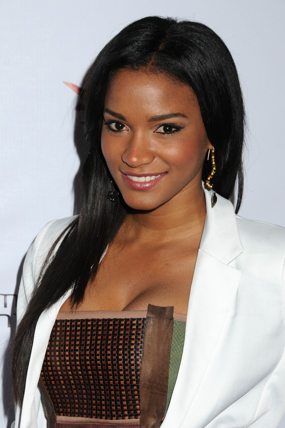 Leila Lopes at Chinese Laundry Fashion Denim