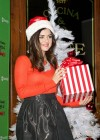 Lucy Hale - ABC Family 25 Days of Christmas Winter Wonderland Event  -01