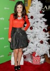 Lucy Hale - ABC Family 25 Days of Christmas Winter Wonderland Event  -02