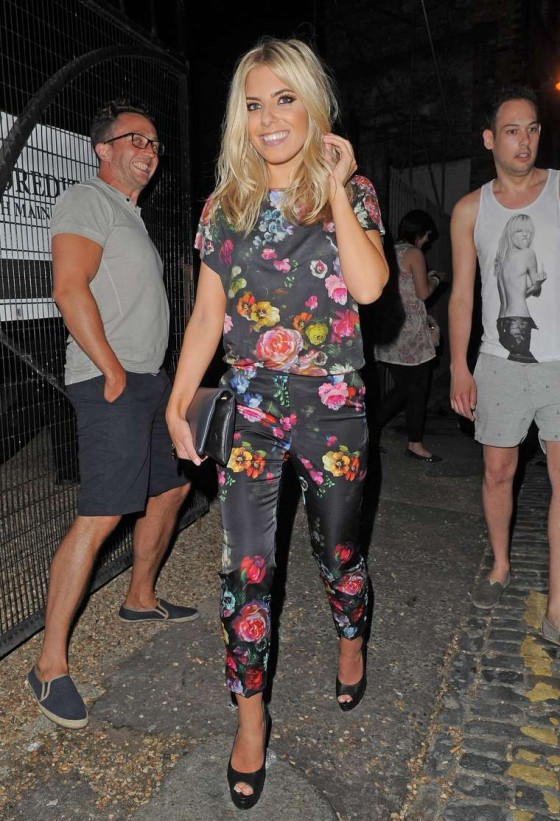 Mollie King at We Love Pop Club in London -03