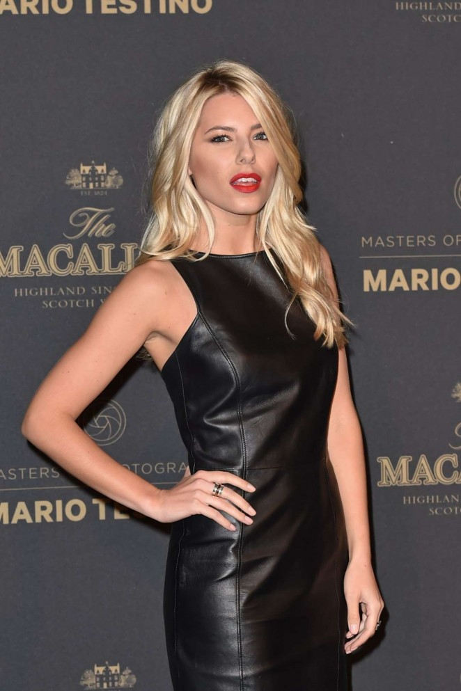 Mollie King - The Macallan Masters Of Photography: Mario Testino Edition Launch Event in London