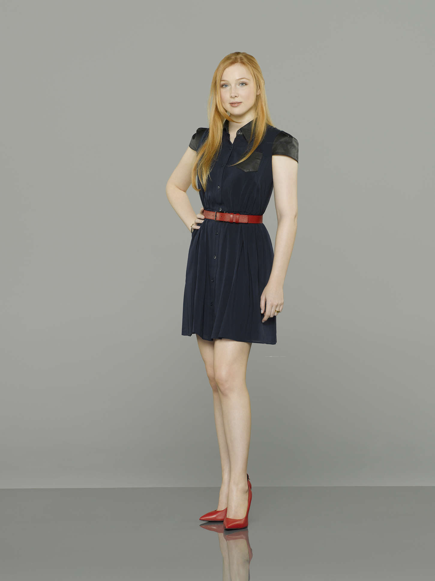 Castle Promo Red Dress