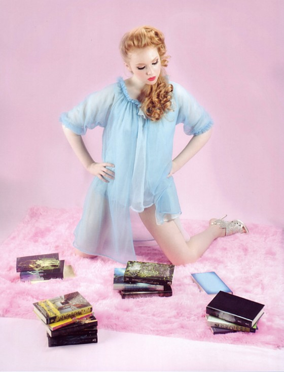 Molly Quinn: Cupcake Quarterly Magazine (July 2013)-04