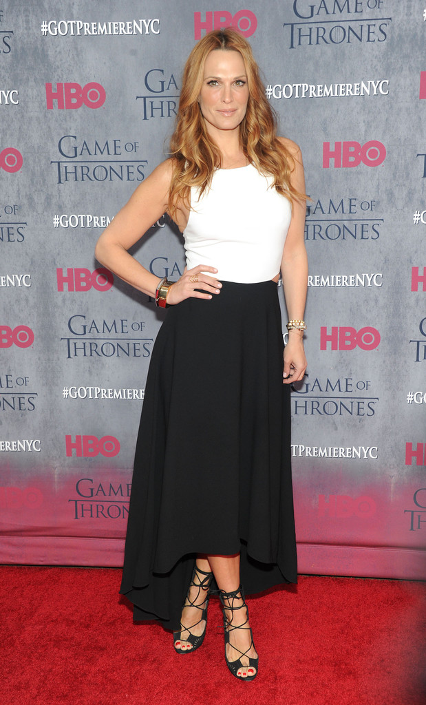 Molly Sims: Game of Thrones NY Premiere -01
