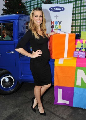 Molly Sims - Old Navy Holiday Event in Los Angeles