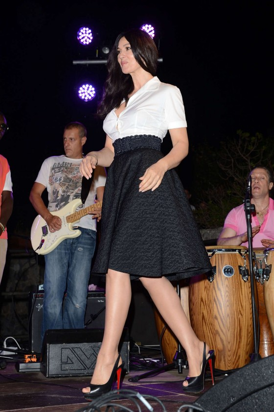 Monica Bellucci - 2012 Ischia Global Fest