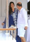 Monica Bellucci - cute on yacht-09