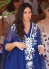 Monica Bellucci - cute on yacht-21