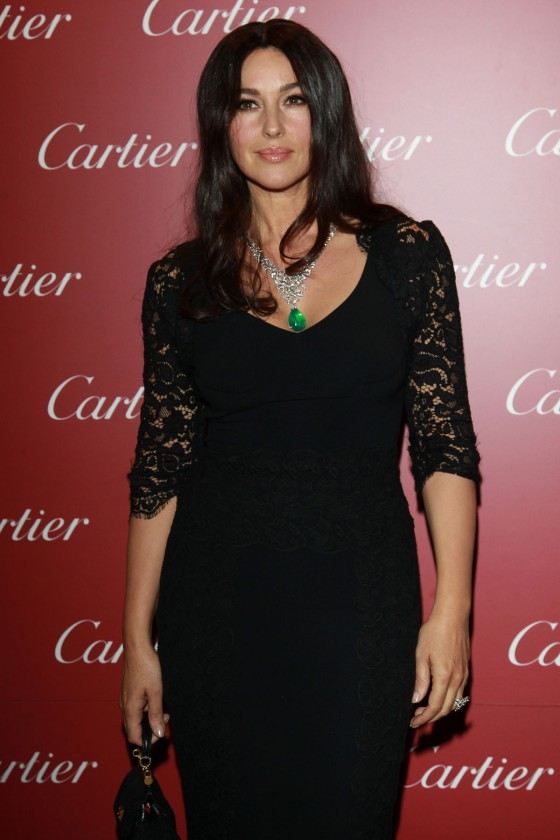 Monica Bellucci – Re-Opening of Cartier Flagship Store – Milan-03