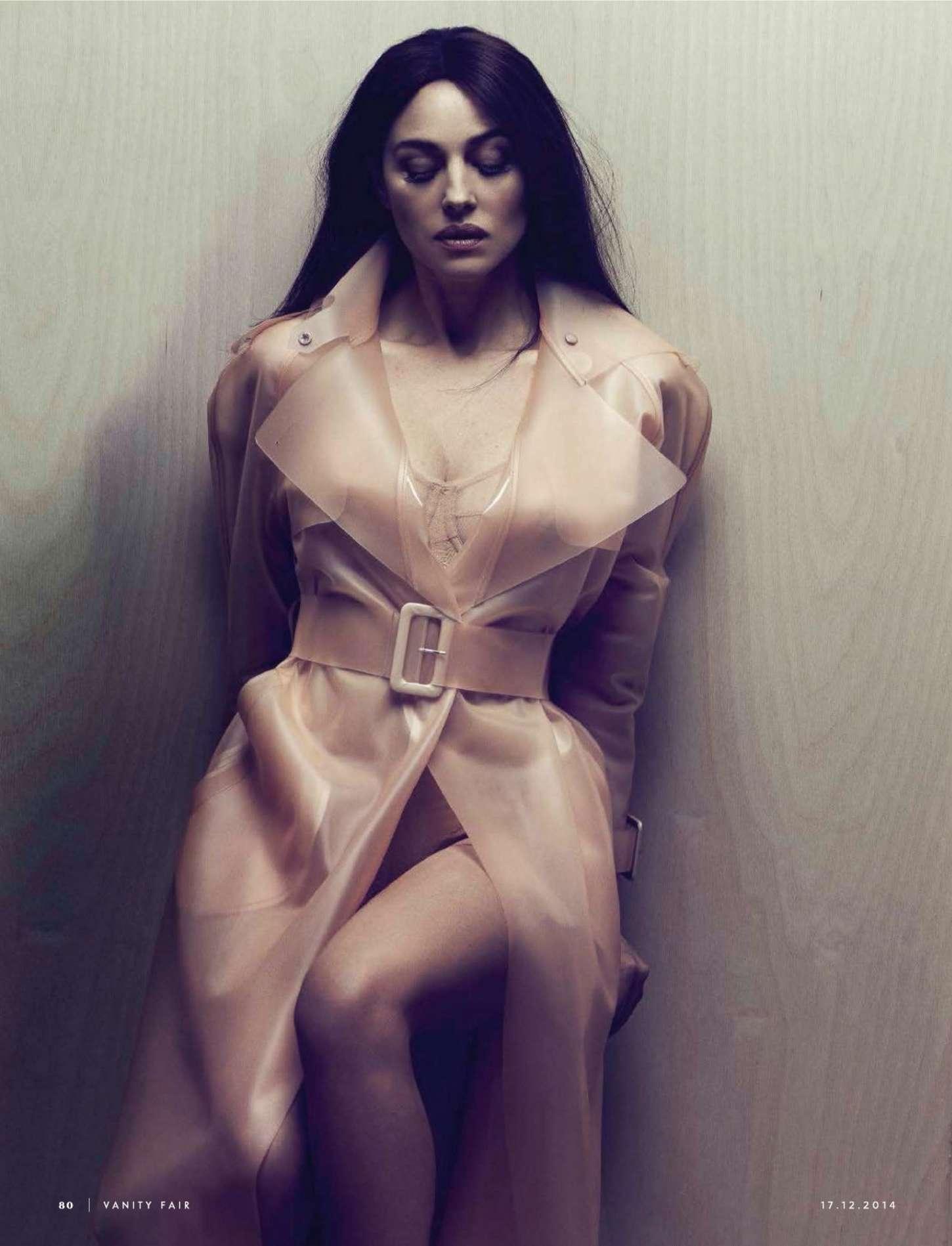 Monica Bellucci - Vanity Fair Italy Magazine (December 2014)