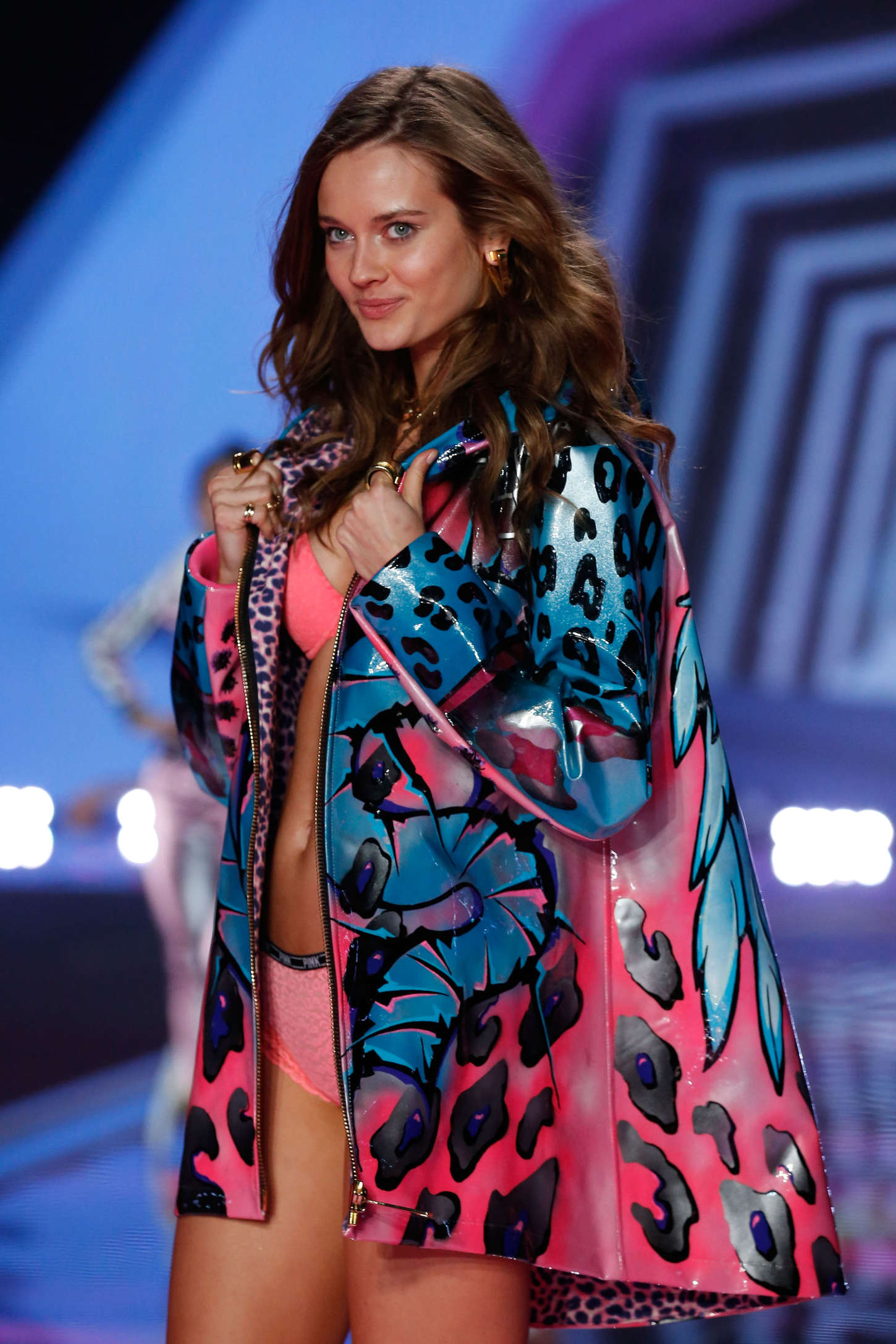 Monika Jagaciak 2014 Vs Fashion Show Runway 05 Gotceleb