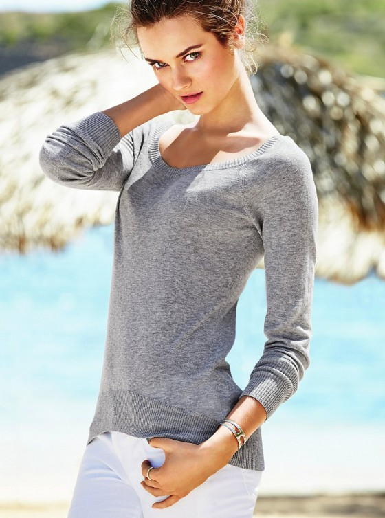 Monika Jagaciak – Victorias Secret Pink January 2014-09