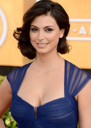 Morena Baccarin: 2014 SAG Awards In A Blue Dress -04