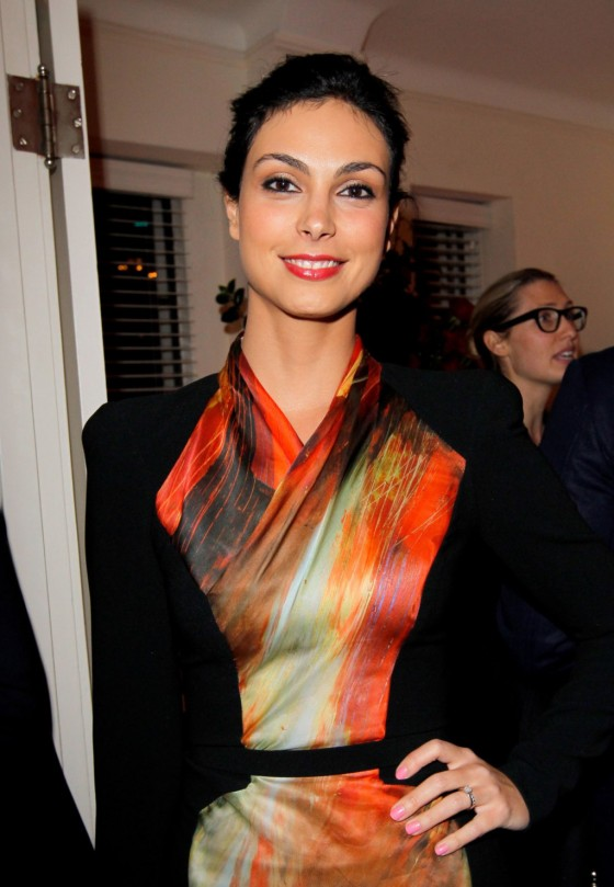 Morena Baccarin - Dom Perignon & W Magazine Celebrate The Golden Globes in Los Angeles, January 11, 2013