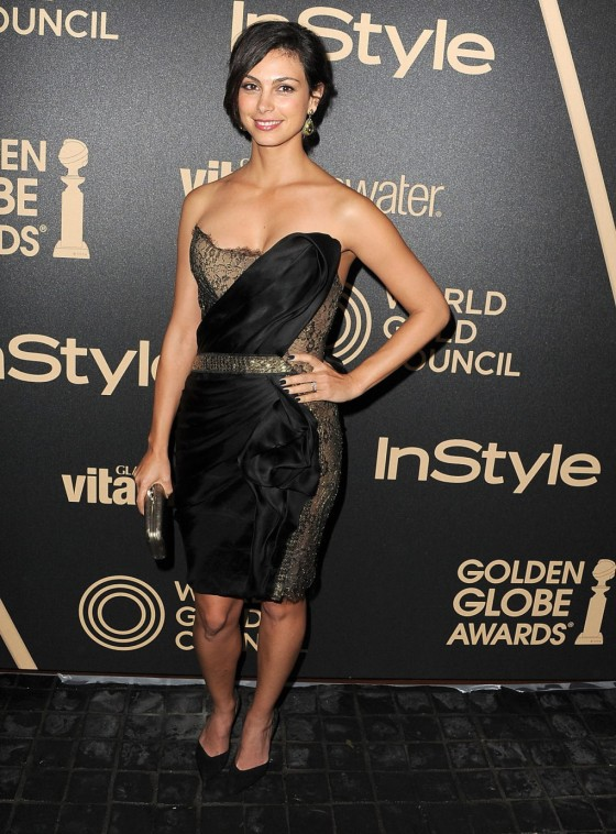 Morena Baccarin - InStyle Miss Golden Globe Party in LA