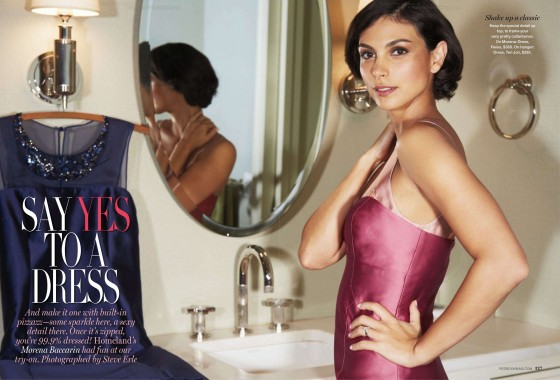 Morena Baccarin in Redbook Photoshoot-01