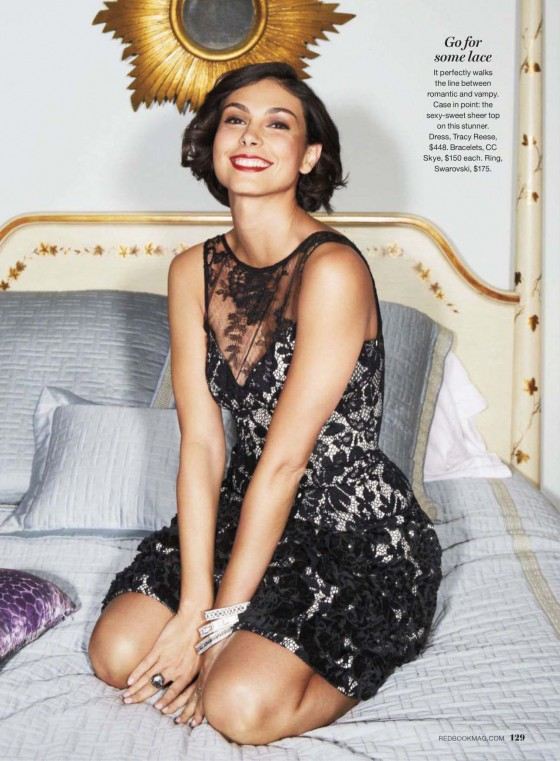 Morena Baccarin - Redbook USA 2012 December issue