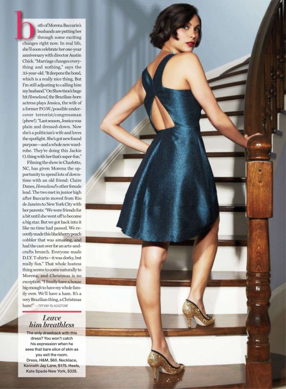 Morena Baccarin in Redbook Photoshoot-09