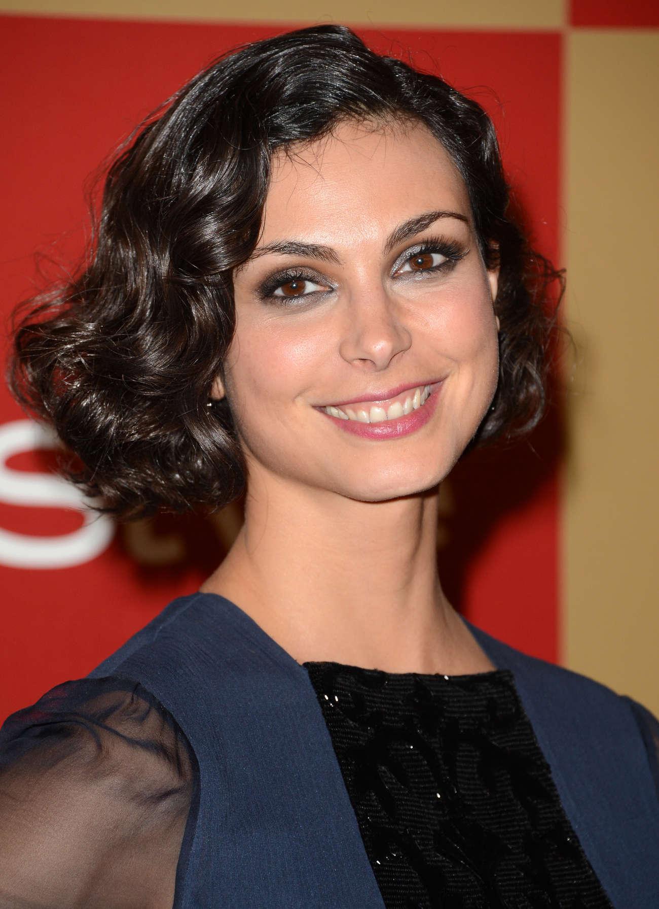 Morena Baccarin - Warner Bros InStyle Golden Globes Party - GotCeleb
