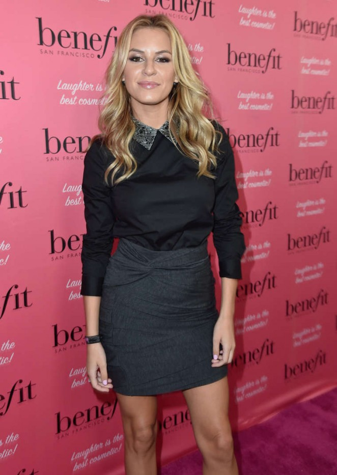 Morgan Stewart - Benefit Cosmetics Kick-Off National Wing Women Weekend in LA