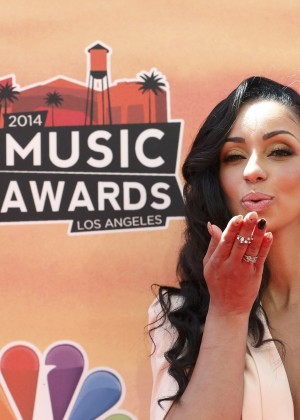 Mya Harrison: 2014 iHeartRadio Music Awards -01