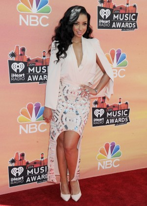 Mya Harrison: 2014 iHeartRadio Music Awards -08