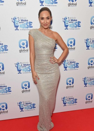 Myleene Klass - 2014 Global Make Some Noise Event in London