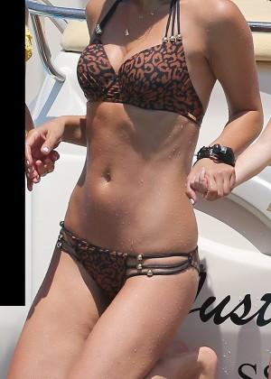 Myleene Klassy Hot Bikini: Ibiza 2014 -02