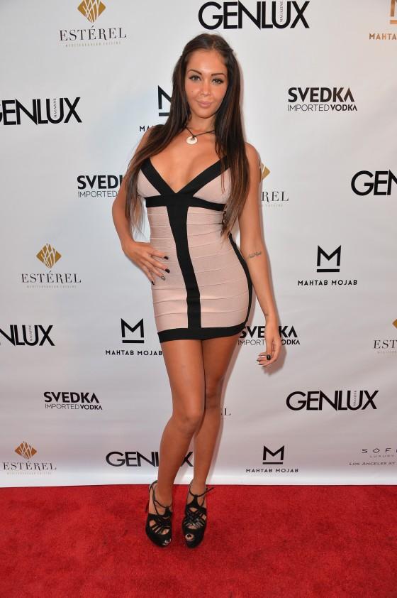 Nabilla Benattia Photos: 2013 Genlux Magazine Party -23 ...