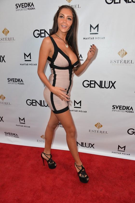 Nabilla Benattia Photos: 2013 Genlux Magazine Party -25 ...