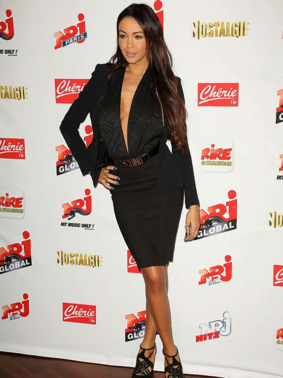 Nabilla Benattia 2013 French NRJ Press Conference -03