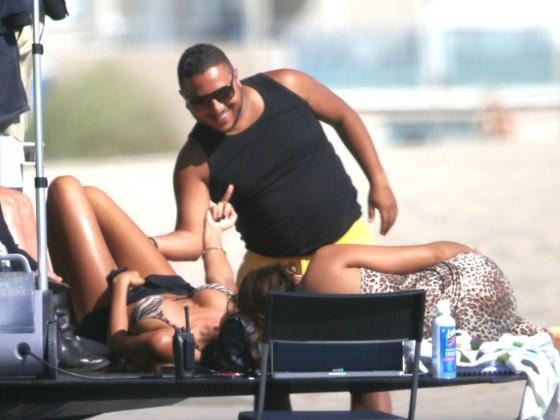 Nabilla Benattia Bikini – Venice Beach -14
