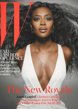 Naomi Campbell - W Magazine Cover (October 2014)