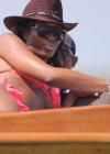 Naomi Campbell Bikini Pics: 2014 in Kenya -04