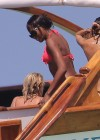 Naomi Campbell Bikini Pics: 2014 in Kenya -14