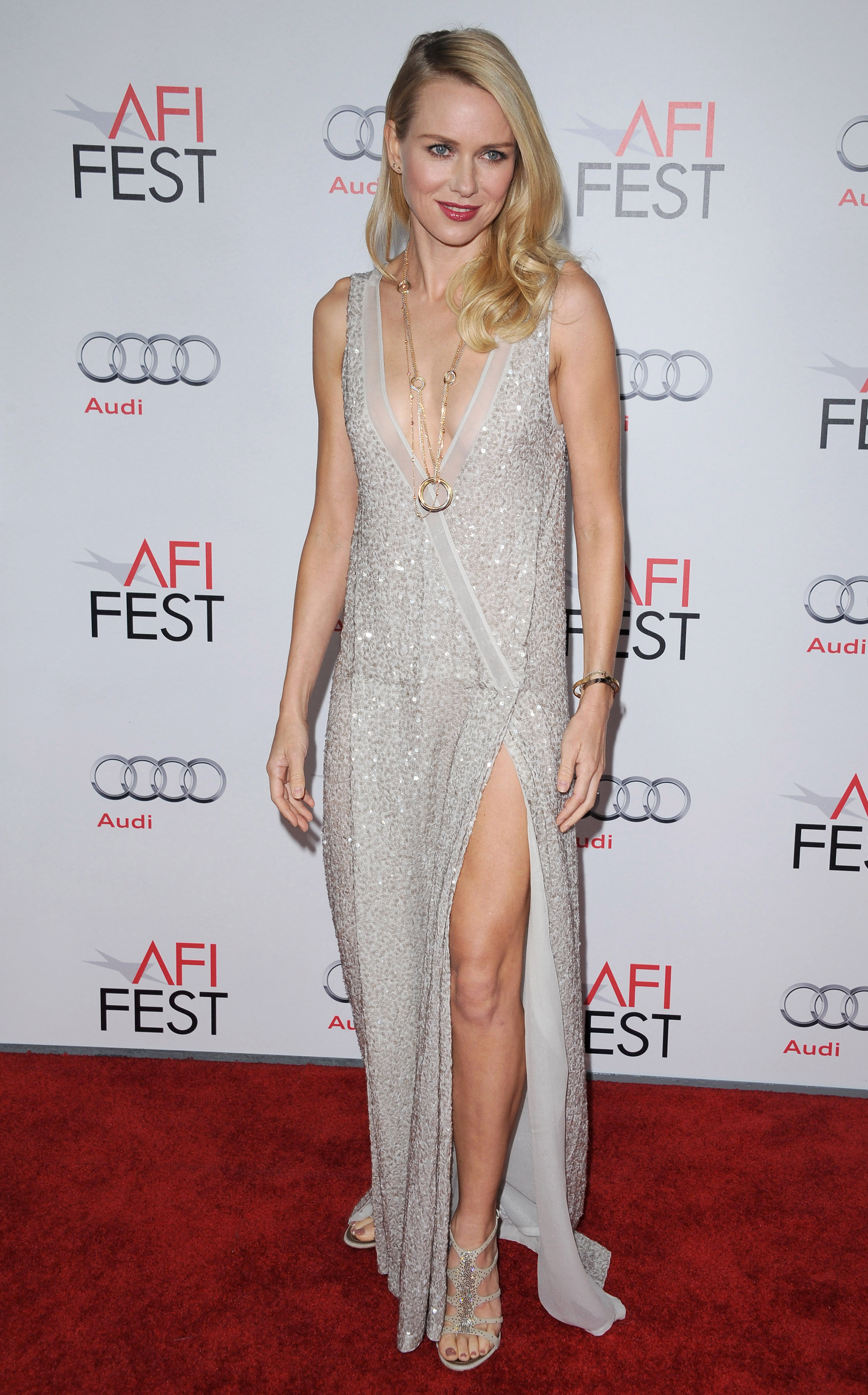 Naomi Watts – Hot in Long Dress at J Edgar Premiere-02 – GotCeleb