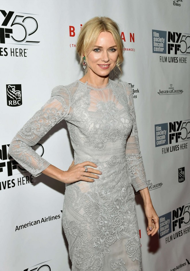 Naomi Watts - Closing Night Gala Presentation of 'Birdman Or The Unexpected Virtue Of Ignorance' in NYC