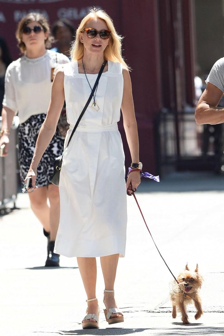 Naomi Watts – Out walking her dog in Manhattan