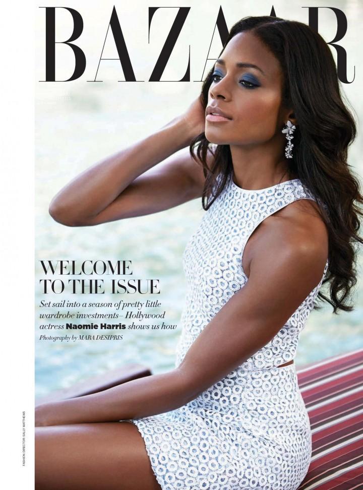 Naomie Harris: Harpers Bazaar Arabia -01