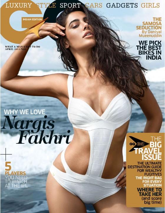Nargis Fakhri - GQ India - 2013 -01