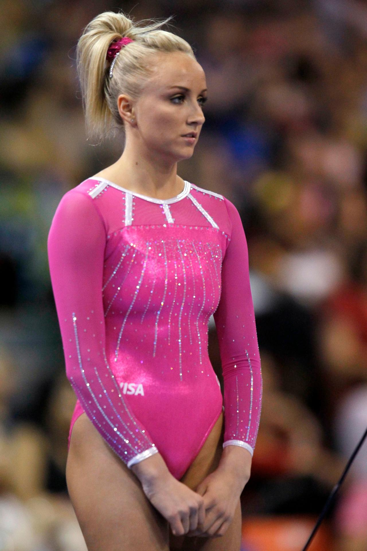 Nastia Liukin At Us Classic Gymnastics Meet In Chicago