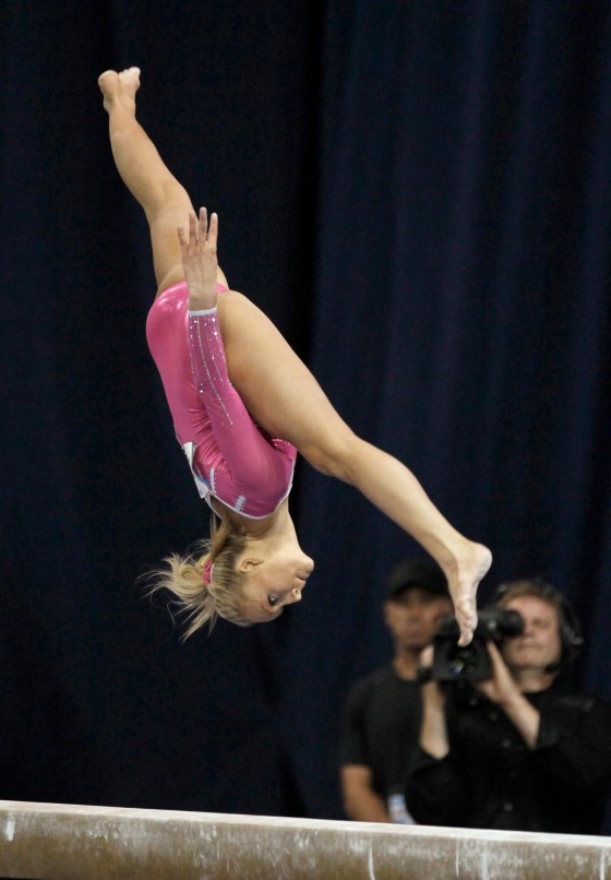 Nastia Liukin at US Classic Gymnastics Meet in Chicago 2012