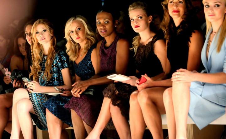 Nastia Luikin: Nanette Lepore NY Fashion Show 2014 -02