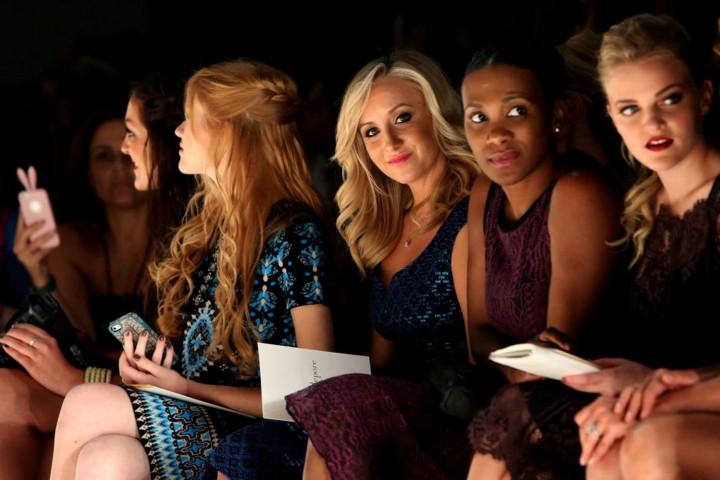 Nastia Luikin: Nanette Lepore NY Fashion Show 2014 -05