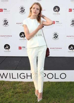 Natalia Vodianova - Chovgan Twilight Polo at Ham Polo Club in Richmond
