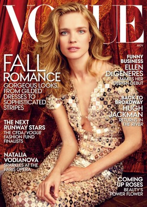 Natalia Vodianova - Vogue US Magazine (November 2014)