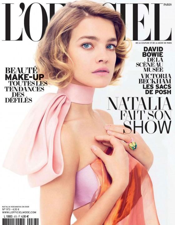 Natalia Vodianova - LOfficiel Magazine - March 2013 -01