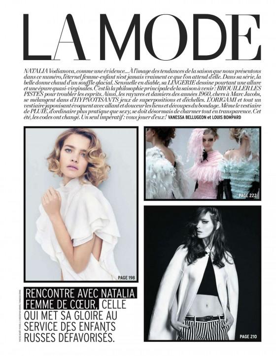 Natalia Vodianova – LOfficiel Magazine – March 2013 -04